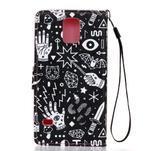 Knížkové PU kožené pouzdro na Samsung Galaxy S5 - - 2/6
