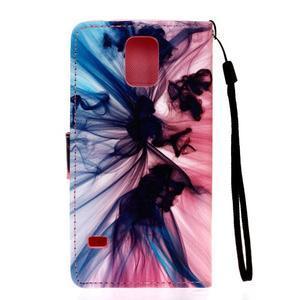 Knížkové PU kožené pouzdro na Samsung Galaxy S5 - iluze - 2