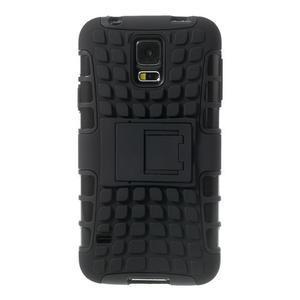 Outdoor odolný kryt na mobil Samsung Galaxy S5 - černý - 2