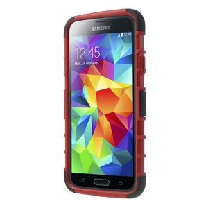 Outdoor odolný kryt na mobil Samsung Galaxy S5 - červený - 2