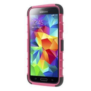 Outdoor odolný kryt na mobil Samsung Galaxy S5 - rose - 2