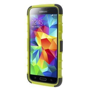 Outdoor odolný kryt na mobil Samsung Galaxy S5 - zelený - 2