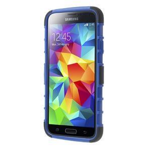 Outdoor odolný kryt na mobil Samsung Galaxy S5 - modrý - 2