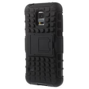 Outdoor odolný obal na mobil Samsung Galaxy S5 mini - černý - 2
