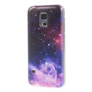 Ultratenký obal na mobil Samsung Galaxy S5 mini - galaxie - 2