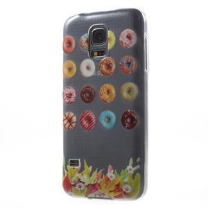 Gelový kryt na mobil Samsung Galaxy S5 mini - donut - 2