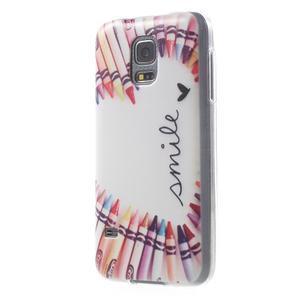 Gelový kryt na mobil Samsung Galaxy S5 mini - smile - 2
