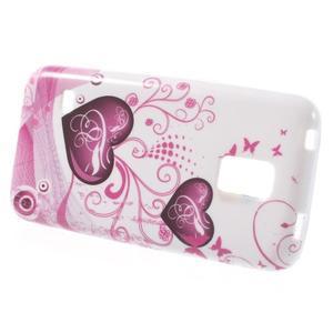 Softy gelový obal na Samsung Galaxy S5 mini - srdce - 2