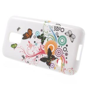Softy gelový obal na Samsung Galaxy S5 mini - magičtí motýlci - 2