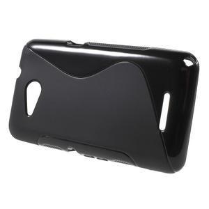 S-line gelový obal pro Sony Xperia E4g - černý - 2