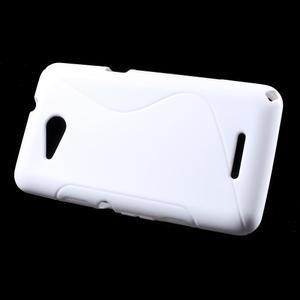 S-line gelový obal pro Sony Xperia E4g - bílý - 2