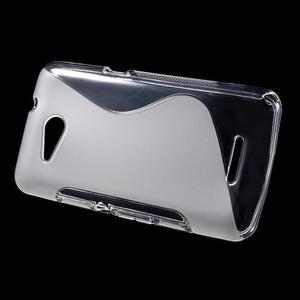 S-line gelový obal pro Sony Xperia E4g - transparentní - 2