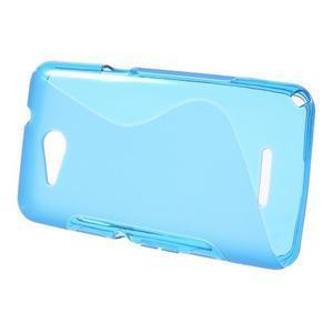 S-line gelový obal pro Sony Xperia E4g - modrý - 2