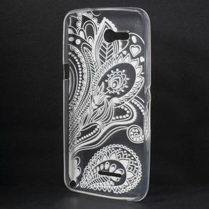 Gelový obal na Sony Xperia E4g - lotos - 2