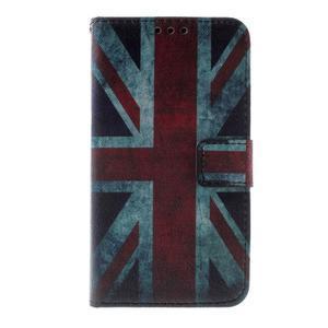 Peněženkové pouzdro na Sony Xperia E4g - UK vlajka - 2