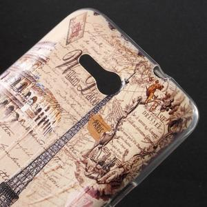 Gelový obal na Sony Xperia E4g - Eiffelova věž - 2