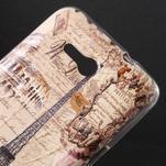 Gelový obal na Sony Xperia E4g - Eiffelova věž - 2/5