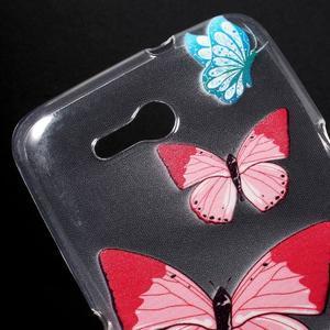 Gelový obal na Sony Xperia E4g - motýlci - 2