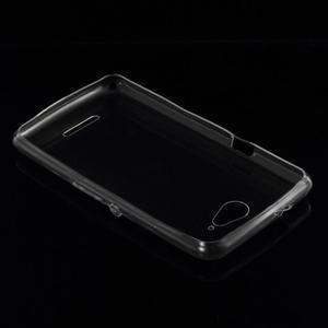 Ultra tenký gelový obal na Sony Xperia E4g - transparentní - 2