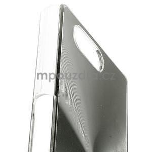 Metalický kryt na Sony Xperia Z3 Compact - stříbrný - 2