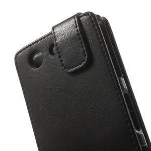 Černé flipové pouzdro na Sony Xperia Z3 Compact D5803 - 2