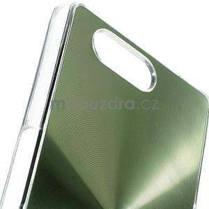 Metalický kryt na Sony Xperia Z3 Compact - zelený - 2