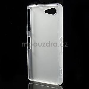 Transparentní matný gelový obal na Sony Xperia Z3 Compact - 2