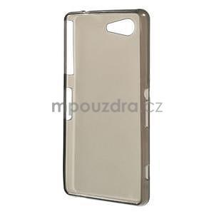 Šedý matný gelový obal na Sony Xperia Z3 Compact - 2