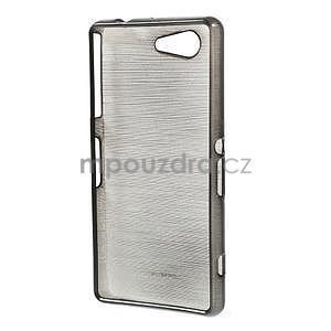 Broušený obal na Sony Xperia Z3 Compact D5803 - černý - 2