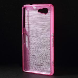 Broušený obal na Sony Xperia Z3 Compact D5803 - rose - 2
