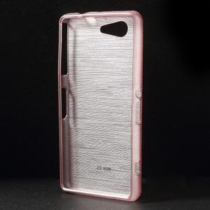 Broušený obal na Sony Xperia Z3 Compact D5803 - růžový - 2