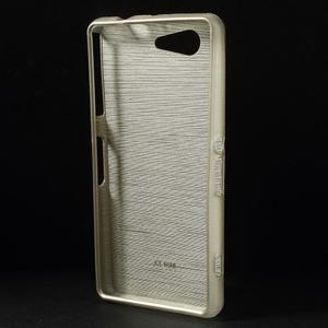 Broušený obal na Sony Xperia Z3 Compact D5803 - champagne - 2