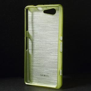 Broušený obal na Sony Xperia Z3 Compact D5803 - zelený - 2