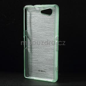 Broušený obal na Sony Xperia Z3 Compact D5803 - azurový - 2