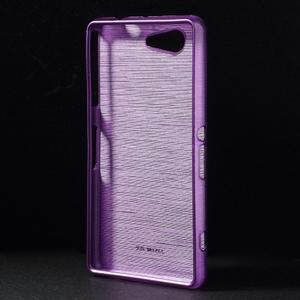 Broušený obal na Sony Xperia Z3 Compact D5803 - fialový - 2