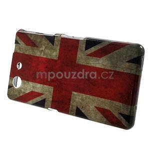 Gelový obal na Sony Xperia Z3 Compact - UK vlajka - 2