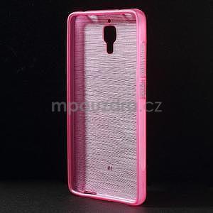 Broušený kryt na Xiaomi 4 MI4 - rose - 2