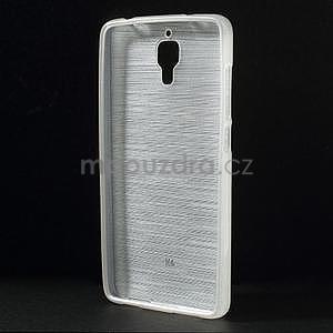 Broušený kryt na Xiaomi 4 MI4 - bílý - 2