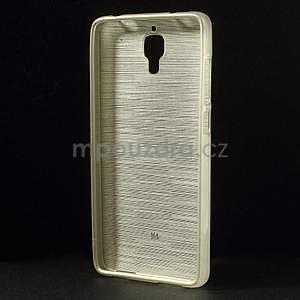 Broušený kryt na Xiaomi 4 MI4 - zlatý - 2