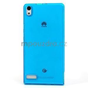 Gelové pouzdro na Huawei Ascend P6 - modré - 2