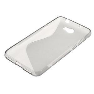 S-line gelový obal na mobil Huawei Y5 II - šedý - 2