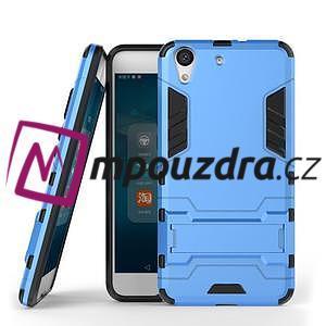 Outdoor odolný obal na mobil Huawei Y6 II a Honor 5A - světlemodrý - 2