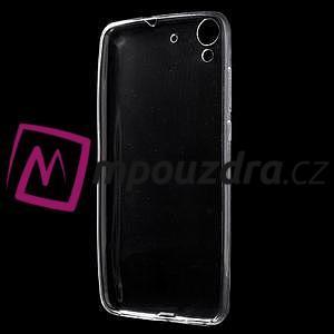 Ultratenký gelový obal na mobil Huawei Y6 II a Honor 5A - transparentní - 2
