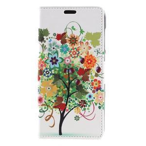 Emotive peněženkové pouzdro na Huawei Y6 II Compact - barevný strom - 2