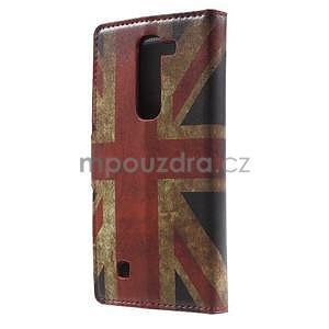 Pěněženkové pouzdro na LG G4c H525n - vlajka UK - 2
