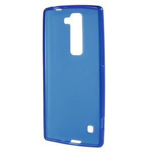 Matný gelový kryt na LG G4c H525n - modrý - 2