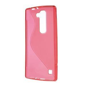 Červený gelový obal S-line na LG G4c H525n - 2