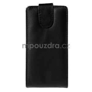 Černé flipové pouzdro na LG G4c H525n - 2