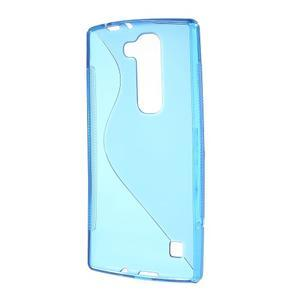 Modrý gelový obal S-line na LG G4c H525n - 2