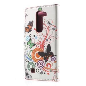 Pěněženkové pouzdro na LG G4c H525n - motýlkové - 2